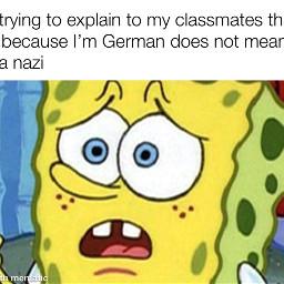 spongebob german nazi spongebobsquarepants spongebobmeme
