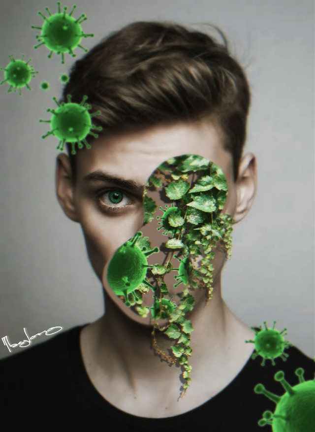 #freetoedit #amazing #creative #editedbyme #editedwithpicsart #portrait #nature #virus #taylor_fotoshop_art Stay Safe
