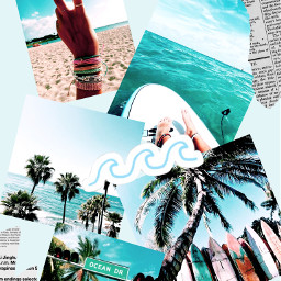 freetoedit beach ocean aesthetic cctravelmoodboard travelmoodboard stayinspired createfromhome moodboard travel