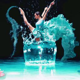 water original ballerina lotus flower srcsplash freetoedit