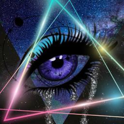freetoedit eyes neons artistic eyelashes
