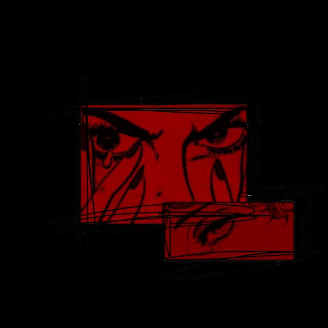 #freetoedit #aesthetic #comic #red #love #pain #sad #tears #anger