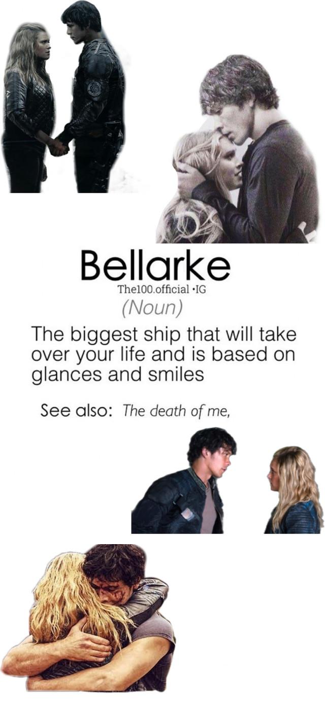 Bellarke muh ship! #the100 #bellarke #clarke #bellamy   #freetoedit