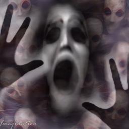 scream faces fx freetoedit remixofmyremix