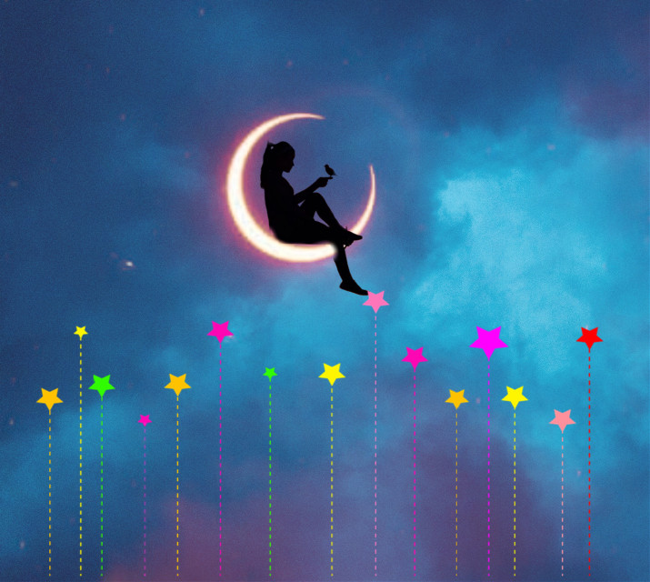 #freetoedit #silhouette #moon #stars #night #happy #follow4follow  Coment for a tag  Taglist @dorothyuva60 @peachesthefurrie @laurafna91 @milliegprowse @ruby_equestrian1 @sugarxplumxbabies