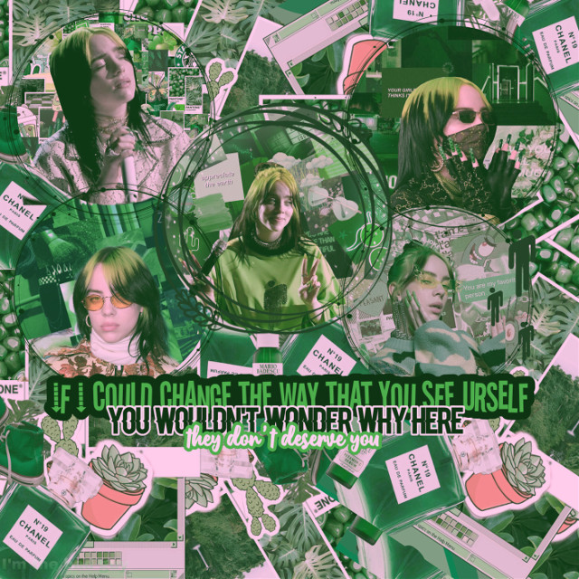 #nofreetoedit #billieeilish #eilish #billie #asiaaestheticgreen #green #everythingiwanted  #inlovewithbillie #original #freetoedit