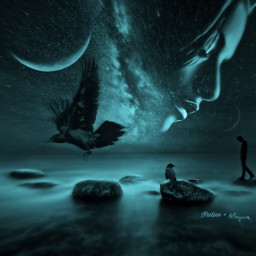 together youandme truelove illbethereforyou moon freetoedit