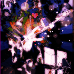 art picsart picoftheday rock guitarist