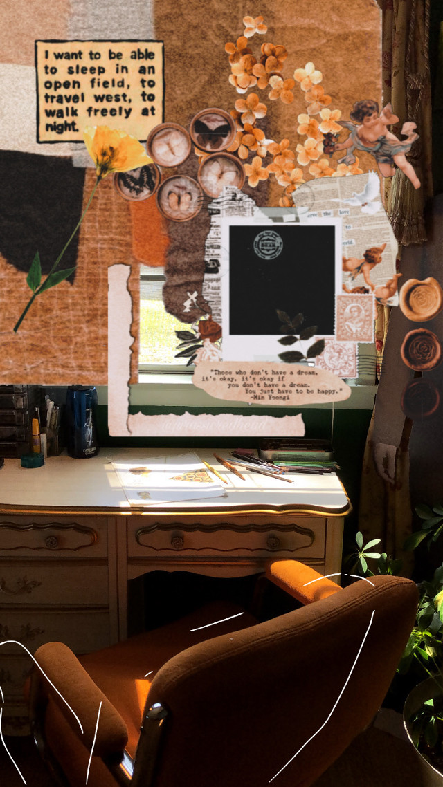 my desk area.  #freetoedit #mybedroom #aesthetic #vintage #vintageaesthetic