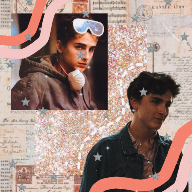 #freetoedit #timotheechalamet #timothee #aesthetic #pink #white #wave #moodboard #collage