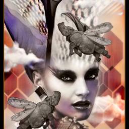 freetoedit papick surreal surrealism portrait