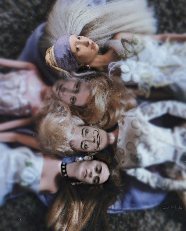 The #artist #hangout #slumberparty with #fridakahlo #salvadordali #pearlearring #dutchgirl #johannesvermeer and #monalisa Yeahhh buddy. ✨💙✨☺️👍   freetoedit