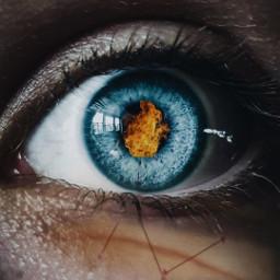 freetoedit fire eye scar scary