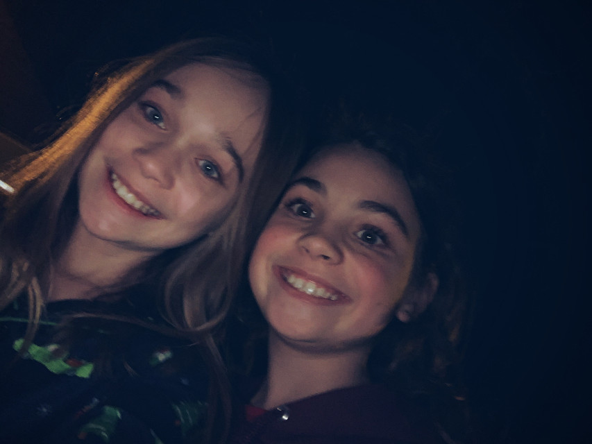 Ok...soo here is my face reveal! Yes ik im hideous (im the one on the left). The reason I decided to create a multi fandom account and some kind of face reveal stuff is because im very insecure. This also took a lot of confidence to post this. Soo yeah heres my face reveal and plz dont hate. Goodbye 💗