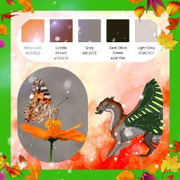 wingsoffire aesthetic palleteaesthetic dragons