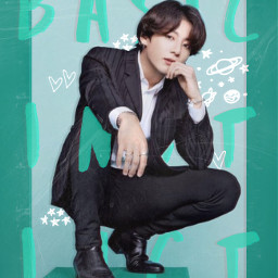 jungkook bts blue green magazine rccooldoodles cooldoodles creatfromhome stayinspired freetoedit