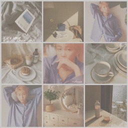 namjoon rm bts aesthetic collage cccozycollages cozycollages