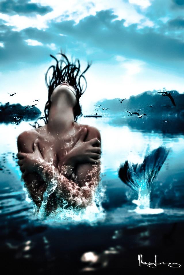 #freetoedit #creative #editedbyme #editedwithpicsart #surrealism #picsart #taylor_fotoshop_art #river #sirena