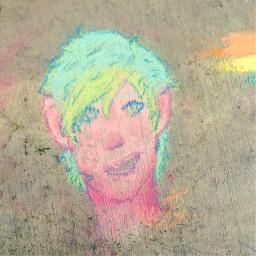 art chalk drawing cool neon freetoedit