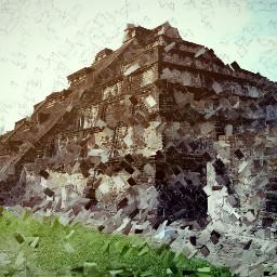 photography landscape piramide