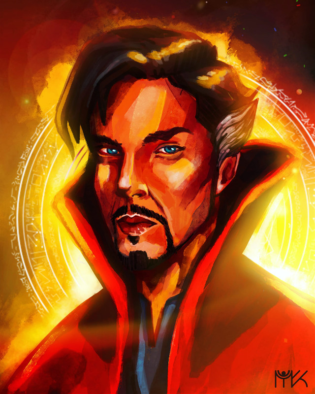 Doctor Strange  ❤️                                     #illustration #illustrator  #interesting #myart #newartist #artwork #marvel #doctorstrange #marvelart #doctorstrangeart #painting #procreate #ipadpro #mydrawing