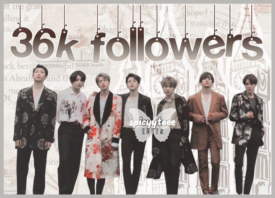 🧚🏻❀༄ [3 6 k f o l l w e r s]  🧚🏻❀༄ [l a t e]    ˗✎*✉️❁༺  Im sorry for being late again, but thanks for 36k followers  ˗✎*🧸❁༺    ──── ・ 。゚☆: *.☽ .* :☆゚. ────   ↳[i n f o r m a t i o n]✰*.:。✧*  ˗✎*🎐❁༺  ➳ a b o u t   e d i t [⏳] ∾ 00:12:29 [🗓] ∾ march 26 [🕒] ∾ 9:42pm [📱] ∾ picsart polarr phonto [👤] ∾ bts  ˗✎*🍒❁༺  ➳ b e h i n d   s c e n e s [🎼] ∾ we are bullet proof: the eternal - BTS [💭] ∾ 2/10 [🤍] ∾ mood🥺🥺  ˗✎*🧚🏻♀️❁༺  🧚🏻❀༄ Like, share, and follow [@spicyytaee] (me) for more ^^  ˗✎*🥂❁༺  ┍━━━━━━»•»🍨«•«━┑                  deysi signing out..... ┕━»•»🍨«•«━━━━━━┙  ˗✎*🍼🍌❁༺  [🏷] tAgSs #BTS #kpop