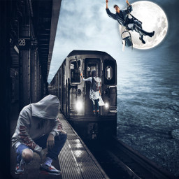 freetoedit train metro men woman