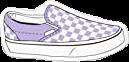 white purple vans checkerd checkers freetoedit