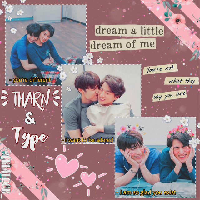 tharntype ; tharn and type #thaidrama  #bldrama #mewgulf   taglist ; @shiberry , @seokjin-soobin  —-  this is basically an example of how i get and idea and how i then poorly execute it lol. so um naziba, i want to add you to my taglist but if you don't want to be a part of it you don't have to ! just tell me no and i'll remove you :')  #freetoedit