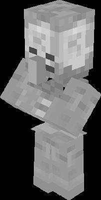 minecraft villager minecraftskeleton skeletonvillager freetoedit