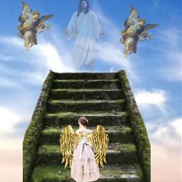 freetoedit god angels heaven jesus