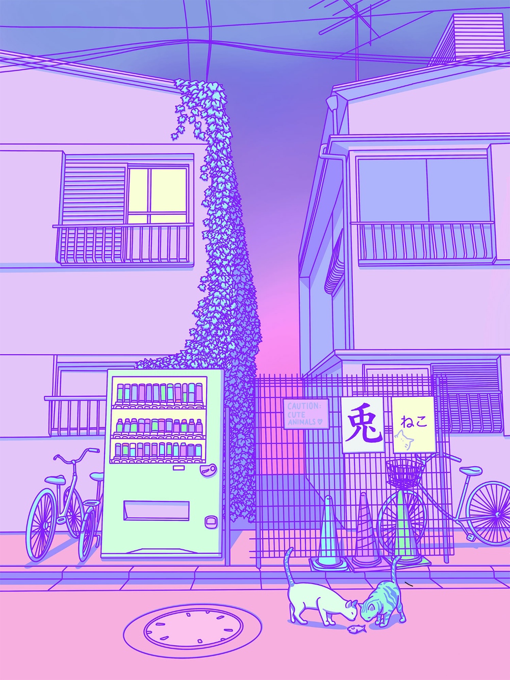 Lofi Japan Aesthetic Image By
