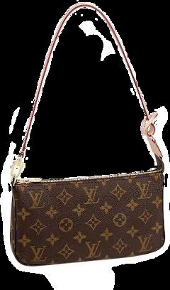 louisvuitton brown bag asthetic cute freetoedit