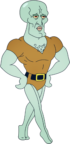 squidward hot sexyboy handsome freetoedit