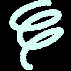 spiral swirl swirledeffect neon swirls freetoedit