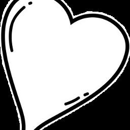heart simple freetoedit