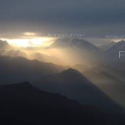 nepal annapurna trek
