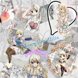 freetoedit fairytail lucy lucyheartfilia anime