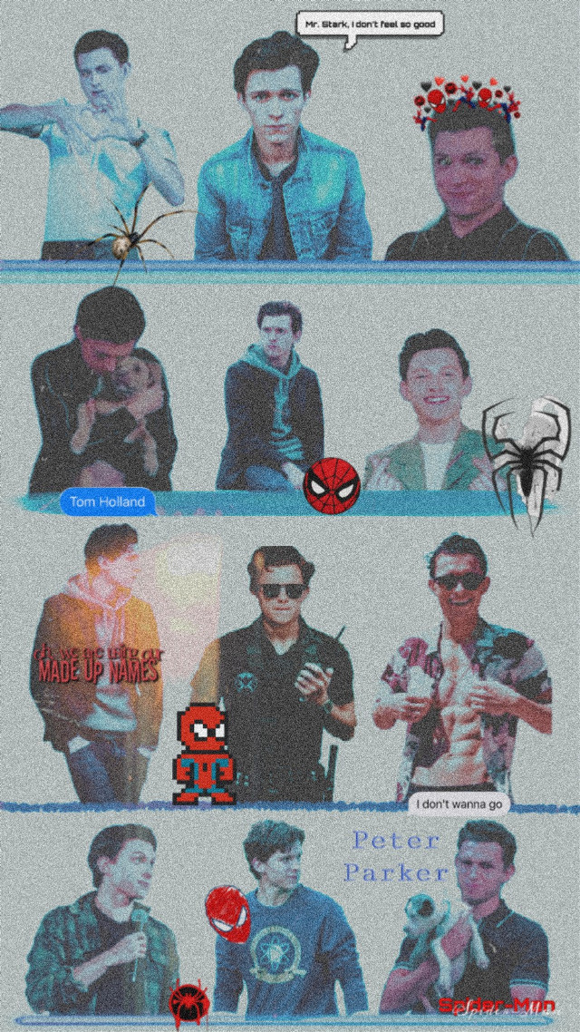 #freetoedit #spider #man #spiderman #marvel #superhero #aesteti #background #cute #deadpool #tonnystark #peterparker #tomholland