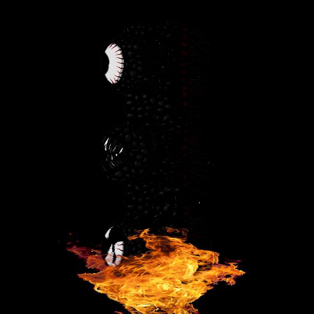 Burnt Wall Of Flesh #terraria #wallofflesh #freetoedit