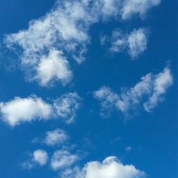 freetoedit blue bluesky blueskywithclouds cloud