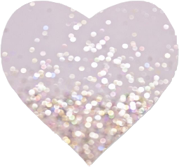 sparkle heart hearts soft freetoedit