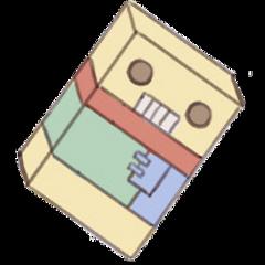 chocolate chocobot robot hunterxhunter killua freetoedit