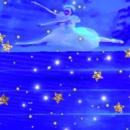 freetoedit dancer ballet snowflakes