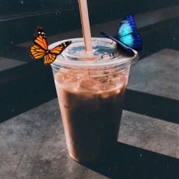 freetoedit galaxy coffee window butterfly rcgalacticwindow galacticwindow stayinspired