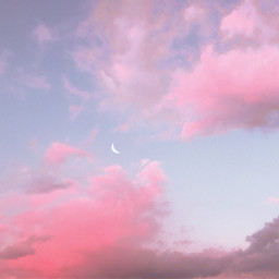 sky clouds bluesky pinkclouds background day freetoedit