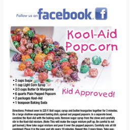 freetoedit recipe koolaid popcorn yummy