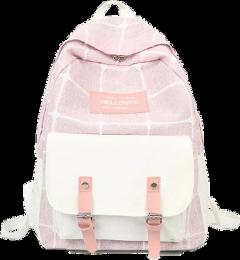 mini minibackpack backpack bag pink freetoedit