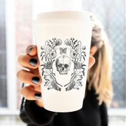 freetoedit girl goth gothic gothgirl irccoffeecupdecoration coffeecupdecoration
