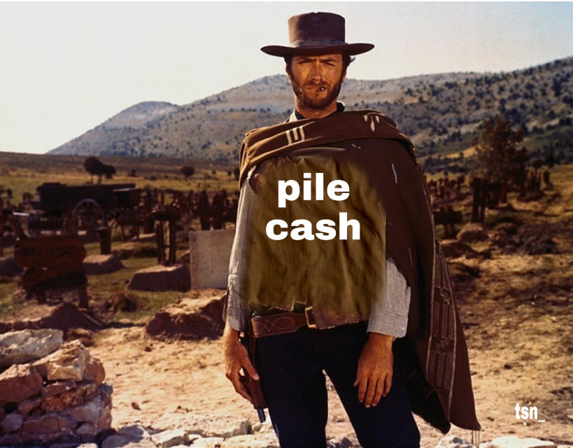 Pile cash club, are you ready to join? #money #design #fame #cash #lifestyleblogger #lifestyle #western